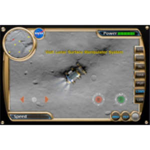 NASA Lunar Electric Rover Simulator App for iOS icon
