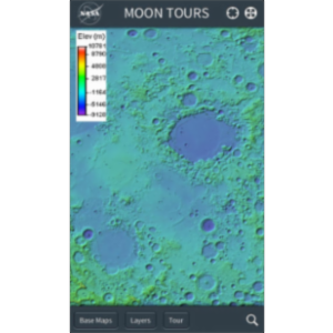Moon Tours App for iOS