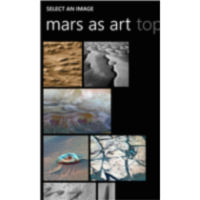 NASA Be A Martian App for Windows Phone icon