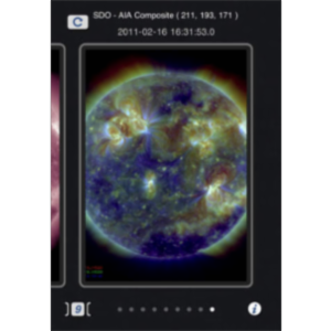 NASA Space Weather App for iOS icon