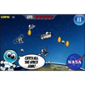 Space Junk Sammy App for iOS icon