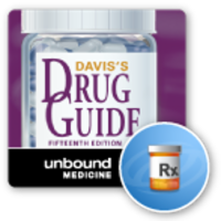 Davis's Drug Guide App for iOS and Android icon