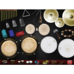 Percussive Latin App for iPad icon