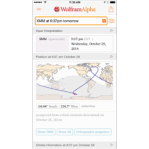 WolframAlpha App for iOS icon
