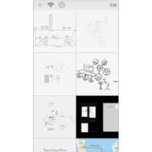SyncSpace: Collaborative Zoomable Whiteboard App for iOS icon