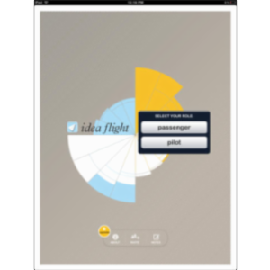 Idea Flight App for iPad icon