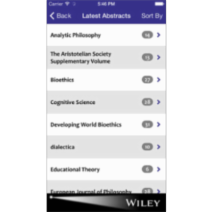 Philosophy Spotlight App for iOS icon