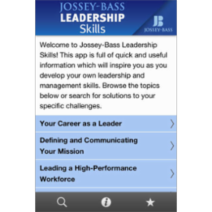 Jossey-Bass Leadership Skills App for iOS icon