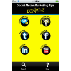 Social Media Marketing Tips For Dummies App for iOS icon