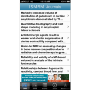 ISMRM Journals App for iOS icon