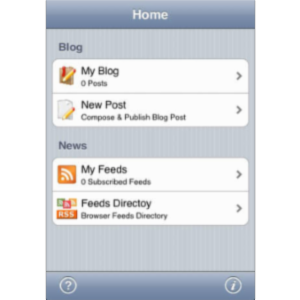 BlogWriter App for iOS icon