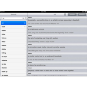 Dictionary! App for iPad icon