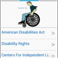 Disability Talk App for Android icon