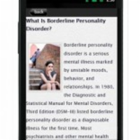 Borderline Personality Disorder App for Android icon