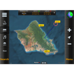 MotionX GPS HD App for iPad