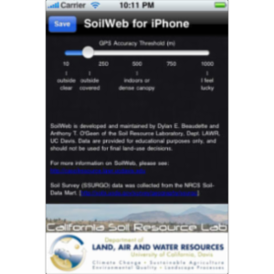 SoilWeb App for iOS icon