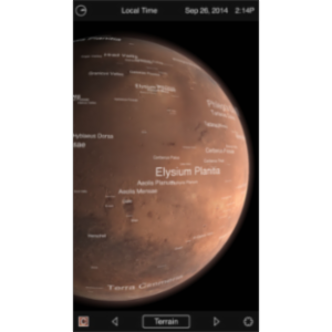 Mars Globe HD App for iOS icon