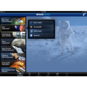 Buzz Aldrin Portal to Science and Space Exploration HD App for iPad icon
