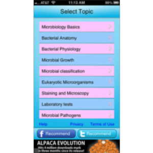 Free QVprep Lite Microbiology App for iOS icon