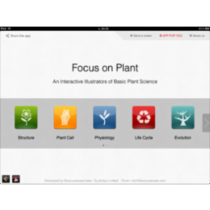 Focus on Plant App for iPad icon