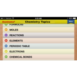 CLEP Chemistry Prep Flashcards Exambusters App for iOS icon