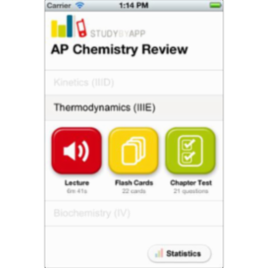 AP Chemistry Review App for iOS icon