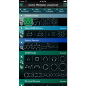 Mobile Molecular DataSheet App for iOS icon