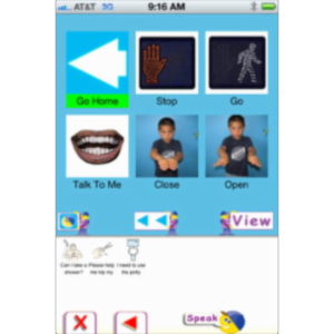 AACSpeechBuddy App for iOS icon