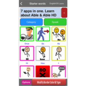 Able AAC Free App for iOS icon