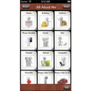 All About Me Storybook App for iOS icon