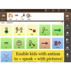Avaz - Help Kids with Autism Speak App for iPad icon
