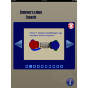 Conversation Coach App for iPad icon