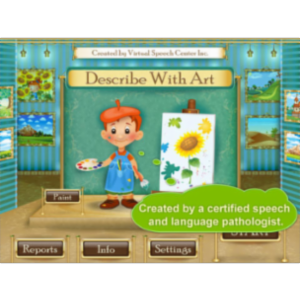 Describe With Art App for iPad icon