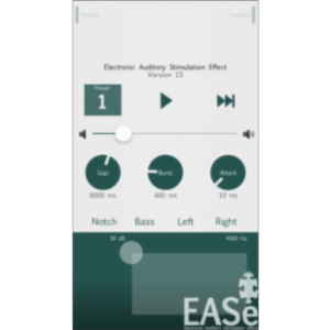 EASe Pro Listening Therapy App for iOS icon