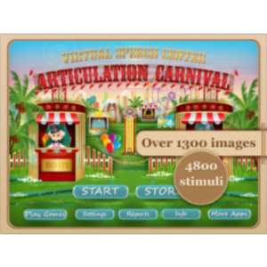Articulation Carnival App for iPad icon