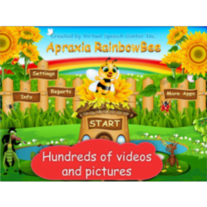 Apraxia RainbowBee App for iPad icon
