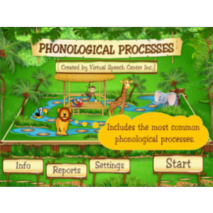 Phonological Processes App for iPad icon