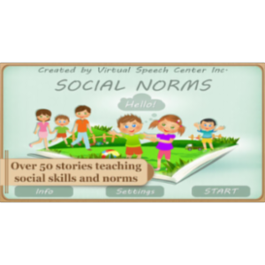 Social Norms App for iPad icon