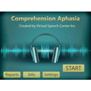 Comprehension Aphasia App for iPad icon