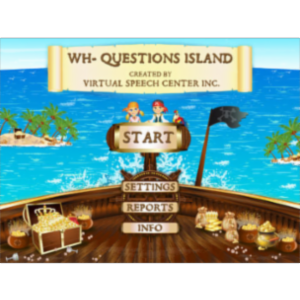 WH-Questions Island App for iPad icon
