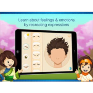 Expressions for Autism App for iPad icon