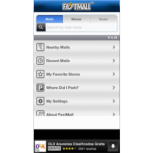 FastMall - Shopping Malls, Community & Interactive Maps App for iOS icon