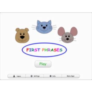 First Phrases HD App for iPad icon