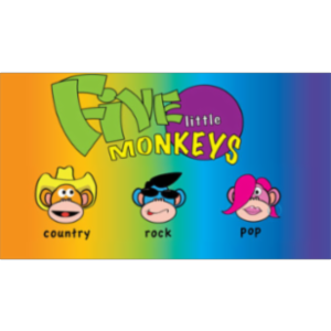 Five Little Monkeys App for iOS icon