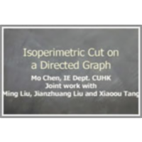 Isoperimetric Cut on a Directed Graph icon