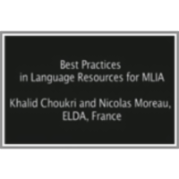 Best Practices in Language Resources for MLIA icon