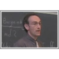 Lecture 17 -  Backward induction: ultimatums and bargaining icon