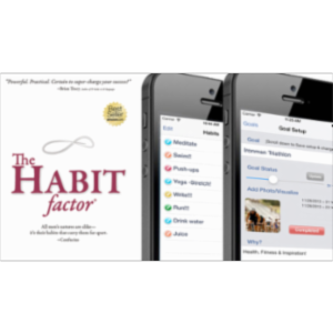 The Habit Factor® Pro: Habits 2 Goals: Goal Tracking, Daily Motivation & Goals, New Years Resolutions, ADD & ADHD Focus Tool App for iOS icon